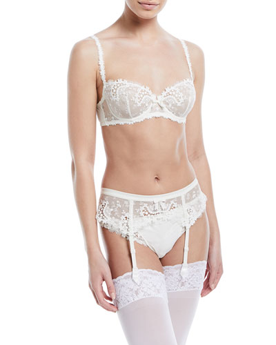Wish Lace Demi Cup Bra and Matching Items