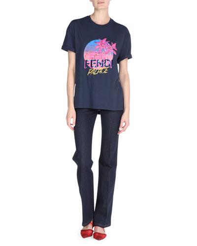 Fendi Palace Graphic T-Shirt and Matching Items