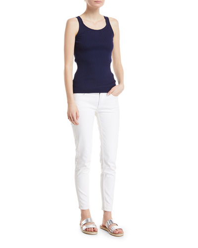 Ribbed Cotton Tank Top and Matching Items