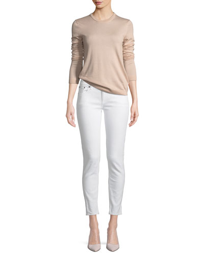 Crewneck Cashmere Sweater and Matching Items
