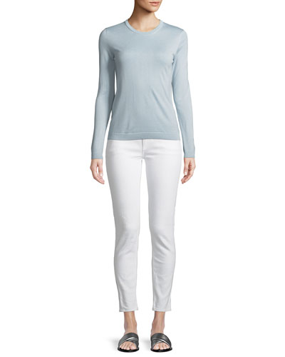 Cashmere Crewneck Pullover Sweater and Matching Items