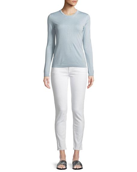 Cashmere Crewneck Pullover Sweater