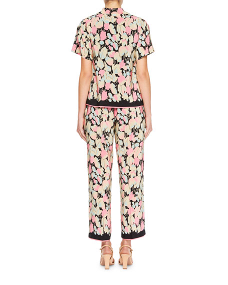 Copin Floral Pajama Top