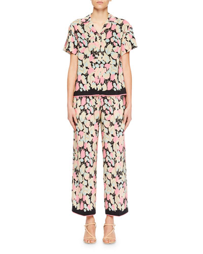 Copin Floral Pajama Top and Matching Items