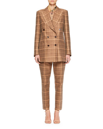Balias Plaid Tweed Blazer and Matching Items