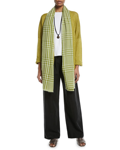 3/4-Sleeve Linen Cardigan and Matching Items