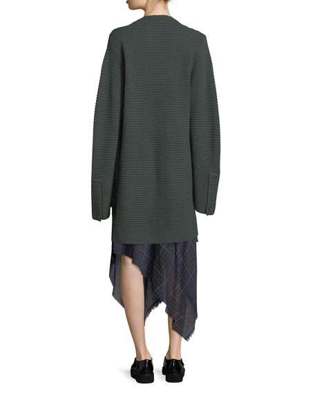 Fleta Knit Wool-Blend Cardigan Sweater