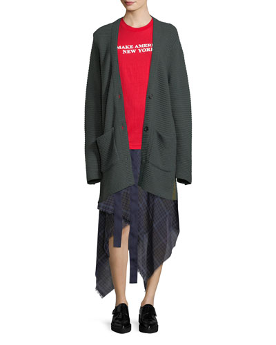 Fleta Knit Wool-Blend Cardigan Sweater and Matching Items