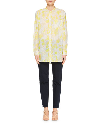 Calyba Floral Voile Tunic Top and Matching Items