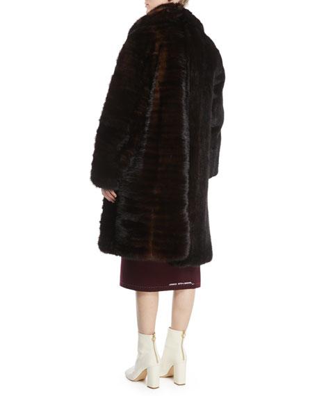 Milanesa Reworked Mink Fur Coat