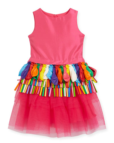 Sleeveless Tulle Balloon Dress, Size 2-4  and Matching Items