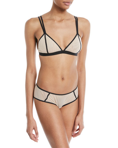 Metropolis Triangle-Cup Bralette and Matching Items