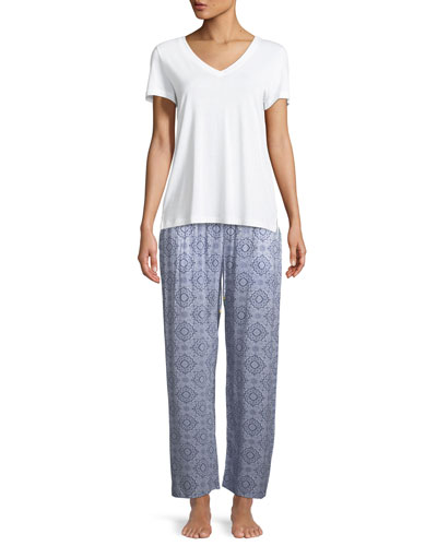 Medallion Pattern Lounge Pants and Matching Items
