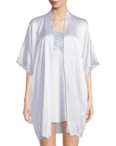 Lace-Trim Top Chemise and Matching Items