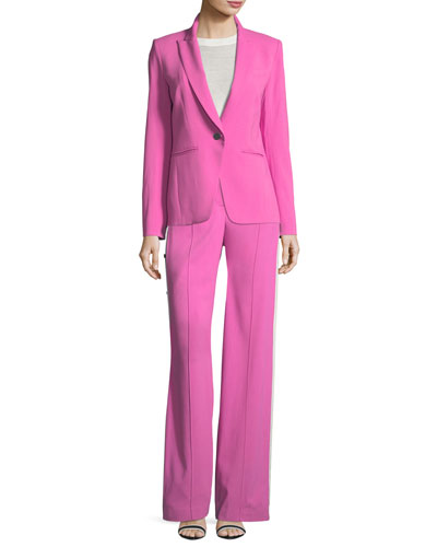 Simone Dickey One-Button Jacket and Matching Items