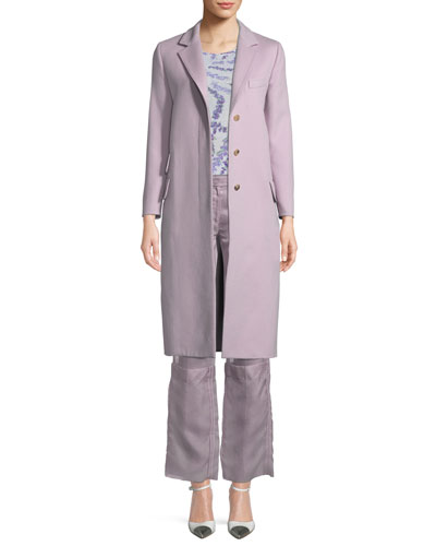 Bettina Wool-Cashmere Long Coat and Matching Items