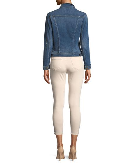 Celine Button-Down Slim Denim Jacket