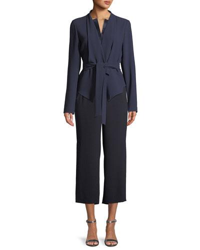 Jenn Tie-Waist Jacket and Matching Items