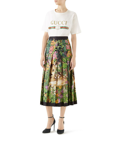 Gucci-Print Cotton Tee and Matching Items