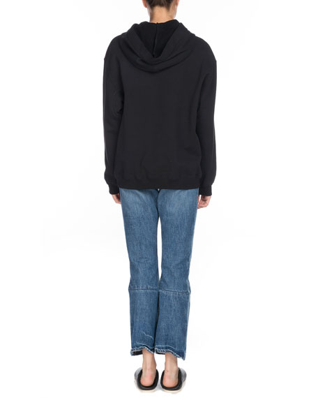 Drawstring Hooded Pullover Sweatshirt