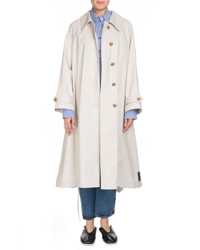 Button-Down Belted Trench Coat and Matching Items