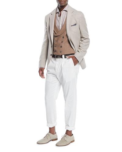 Triblend Herringbone Sport Jacket and Matching Items