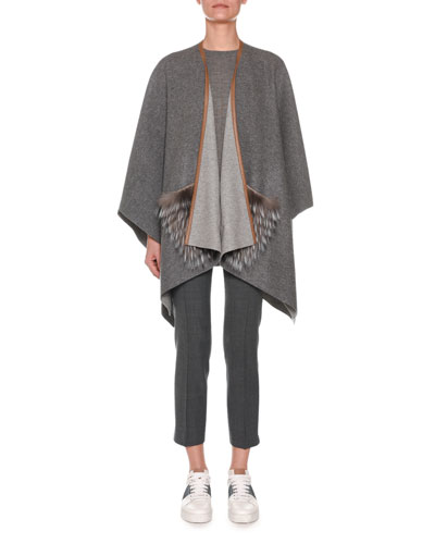 Flat-Front Straight-Leg Ankle Pants and Matching Items