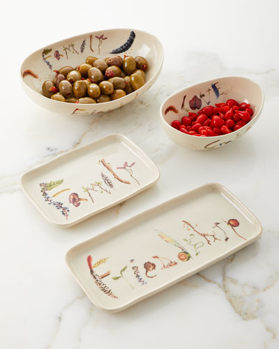 Forest Walk Oval Love and Gratitude Bowl  and Matching Items