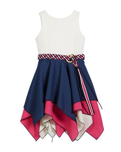 Piper Handkerchief-Hem Swing Dress, Size 4-6X and Matching Items