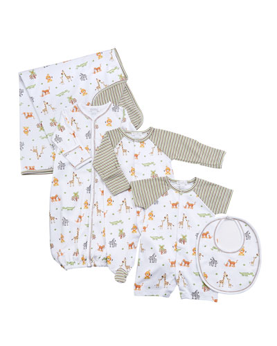 Jolly Jungle Convertible Gown, Size Newborn-S and Matching Items