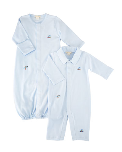 SCE Transit Pima Convertible Gown, Size Newborn-S and Matching Items