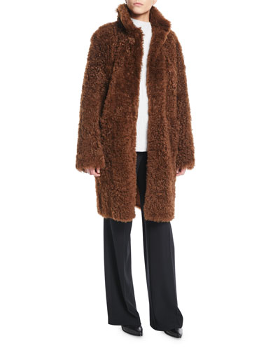Reversible Shearling Coat and Matching Items