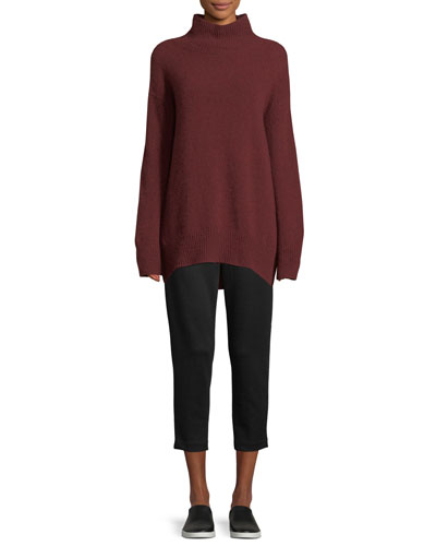 Oversized Turtleneck Cashmere Sweater and Matching Items