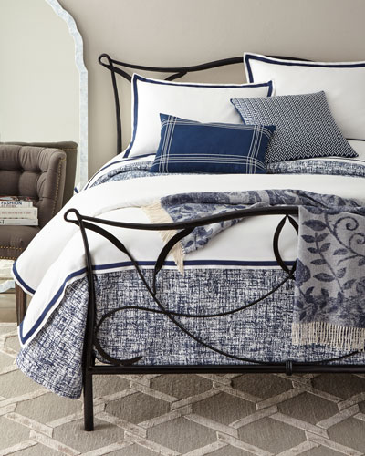 Oxford Border Duvet Cover, Queen and Matching Items