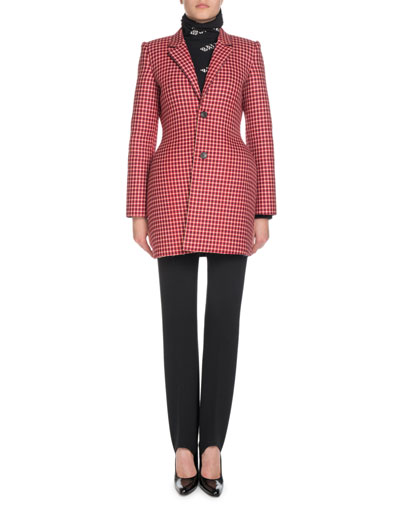 Hourglass Check Blazer Jacket  and Matching Items