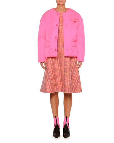 Long-Sleeve Puffer Jacket  and Matching Items