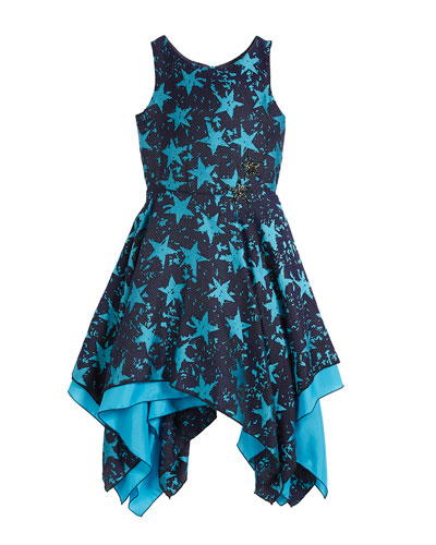 All Star Jacquard Sleeveless Dress, Size 4-6X and Matching Items