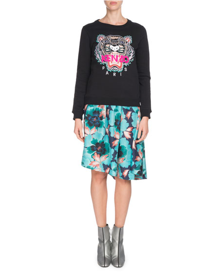 8ea3ad48c Kenzo Tiger Embroidered Crewneck Sweatshirt and Matching Items
