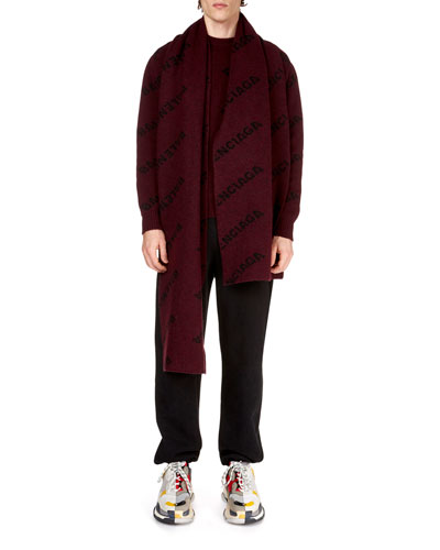 Men's Logo Intarsia Sweater and Matching Items