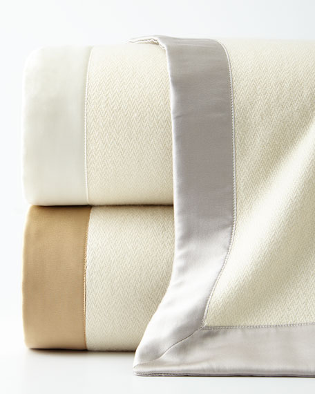 Queen Serena Cashmere Blanket