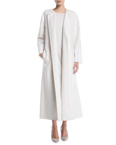 Tundra Belted Wool-Cashmere Coat  and Matching Items