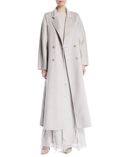 Bondone Double-Breasted Belted Cashmere Coat  and Matching Items