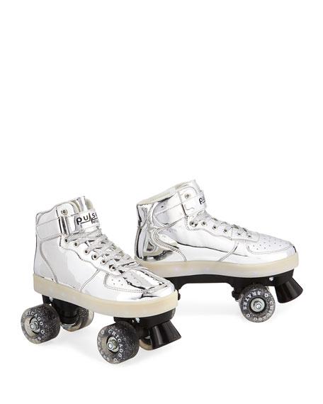 Kids' Pulse Light-Up Skates, Silver
