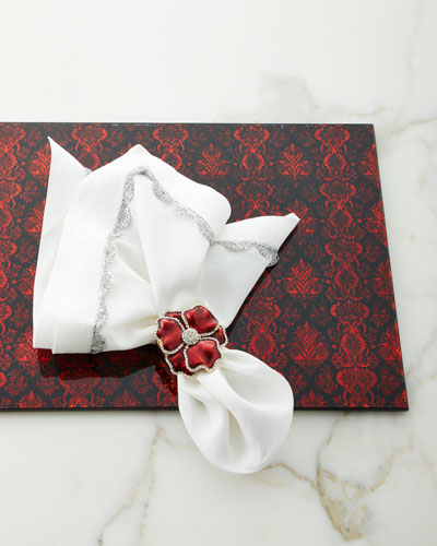Scalloped Taping Napkin and Matching Items