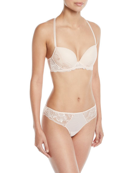5f62477f5f Simone Perele Promesse Lace-Trim Push-Up Bra and Matching Items