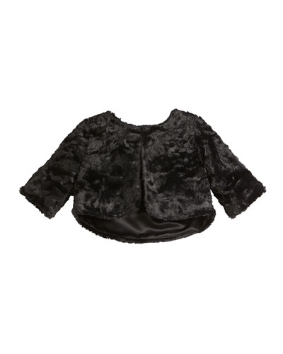 Faux Fur Bolero, Size 2T-6X and Matching Items