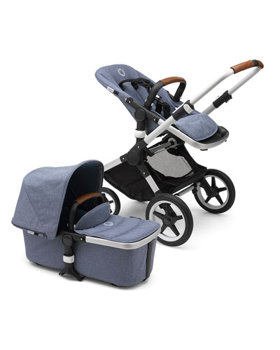 Fox Complete Stroller - Blue and Matching Items