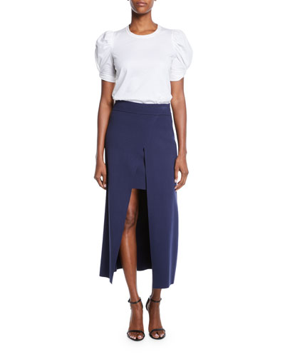 Canady Layered Cutaway Midi Skirt and Matching Items