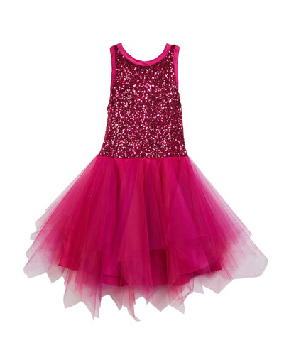 Marly Sequin & Tulle Party Dress, Size 4-6X and Matching Items