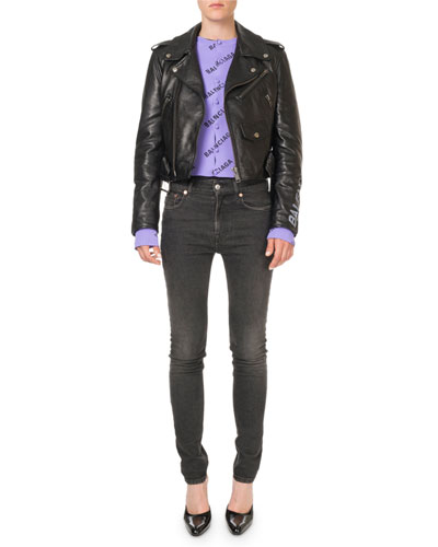 Bull-Leather Biker Jacket and Matching Items